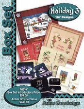 Anita Goodesign Holiday Box Set 3 Embroidery Machine Design CD