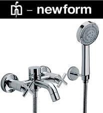 """Newform """"Time Collection"""" 8840/C-21-018 Bath & Shower Mixer Complete Set NIB"""