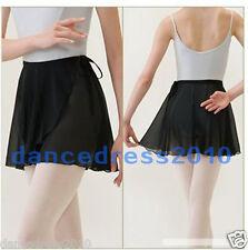 New Adult Ballet Tutu Skirt Wrap Scarf Matching With Leotards Dance Skate Dress