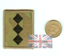 Official Crye Multicam MTP Captain - Hook (Sticky) Backed - RANK Patch