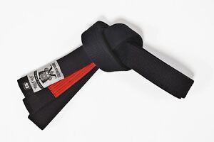 GR1PS- Brazilian Jiu-Jitsu Gürtel schwarz. BJJ belt. black.A1-A3.sehr hochwertig