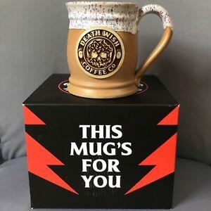 Death Wish Coffee Drippy Trippy Donut Mug 1662 / 3500 with Manufacturing Defect