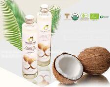 2x100ml. TROPICANA Organic Pure Cold Pressed Coconut Oil Healthy Skin Hair Spa