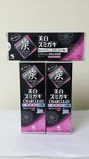 3 x Kobayashi Japan Charclean Whitening Charcoal Power Toothpaste 90g