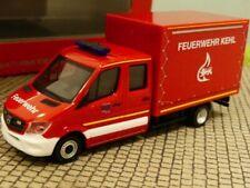 1/87 Herpa MB Sprinter Doppelkabine mit Plane Feuerwehr Kehl 094931
