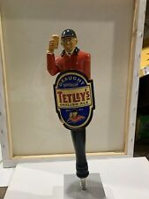 Tetley's English Ale Draught Beer Pull Tap Handle