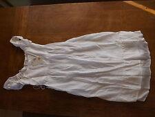 Cotton Blend Patternless Casual Boho, Hippie Women's Dresses