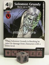 Dice Masters - 2x #066 Solomon Grundy born on a Monday-Justice League