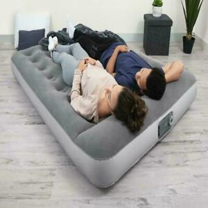Full Size Air Bed Mattress Inflatable With Built In Ac Pump Sleeping Camping