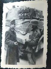 Photo Foto WW2 WWII : PANZERTRUPPEN av Char Panzer ** TIGRE II Royal **