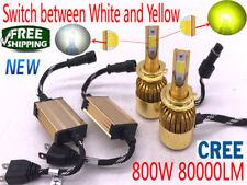 800W 80000LM CREE LED Headlight Kit H7 H11 H1 H4 6000K White Car Light Bulb Lamp