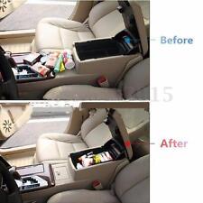Black Car Central Armrest Storage Box Glove Box for 2012-2015 Camry (XV50)