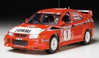24220 Tamiya Lancer Evolution Vi Wrc 1/24th Plastic Kit Assembly Car