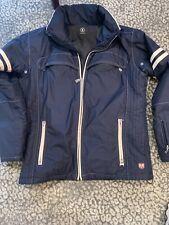 Bogner ski jacket men. Size US 40 Navy/cream
