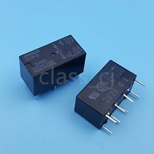 2Pcs G5V-2 DC 24V Omron DPDT 8Pin PCB Mount Low-cost Signal Relay