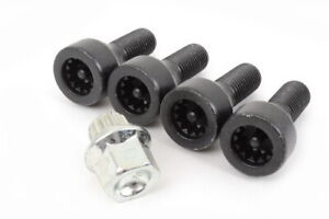Genuine Locking Wheel Bolts Locks Set BMW E46 E92 1 3 5 6 Series Z4 36136786419