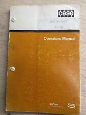 Case 1825 Uniloader Skid Steer Operators Manual