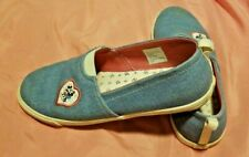 Disney Mickey & Minnie Mouse Junk Food Slip-On Shoes Size 4 Kids