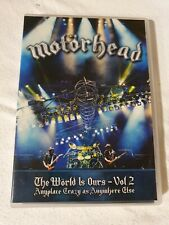 Motorhead The World Is Ours Volume 2 Dvd