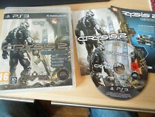 PS3 PLAYSTATION 3 GAME CRYSIS 2 / II LIMITED EDITION COMPLETE PAL WITH MANUAL