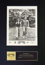 #693 THE CARPENTERS Reproduction Signature/Autograph Mounted Signed Photograph