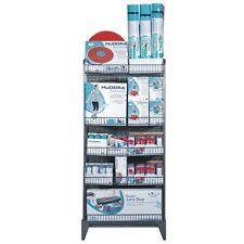 2 x Verkaufs Display Verkaufsständer Gitter-Display Ladeneinrichtung Metallregal