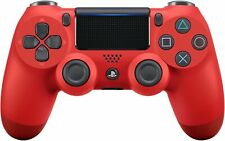 Sony PlayStation Dualshock 4 V2 Controller - Magma Red (CUH-ZCT2G 11)
