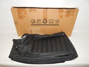 New OEM 2006-2010 Volkswagen VW Passat Seat Back Rest Pad Cover Black