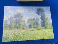 wentworth wooden jigsaw puzzle 250 pieces - Monet - effect of Spring - done once