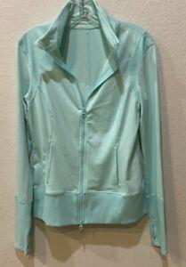 Zella Athletic Jacket Mint Green Medium