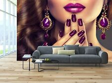 Style Luxury Fashion Nails Manicure Wall Mural Photo Wallpaper GIANT WALL DECOR