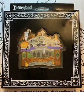 Disney Haunted Mansion Holiday 2019 Jumbo Pin Nightmare Before Christmas LE 3000