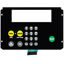 Dresser Wayne 882578-016 Vista Amoco CAT Keypad W/ Metal Backer & Start Button