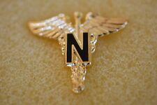 US USA Army Nurse Military Hat Lapel Pin