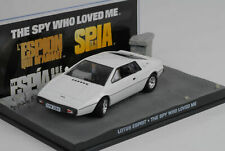 James Bond Lotus Esprit white weiss Movie The Spy who loved me 1:43 Ixo Altaya