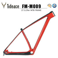 29er T1000 Carbon Fiber Mountain Bicycle Frame PF30 12*142mm Thru Axle MTB Frame