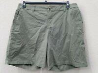 STYLE  & CO Women's PLUS Size 24W Bermuda Chino Shorts*Mid Rise*Elastic back*NWT
