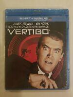 Vertigo (Blu-ray Disc, 2014, Includes Digital Copy UltraViolet) NEW SEALED