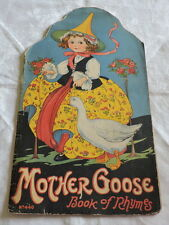 1917 Mother Goose Book of Rhymes - C2918