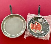 """Lot Of 2 Vintage Frying Pans - Bounty by Wear-Ever 10"""" + Foley 12"""" Non-stick VTG"""