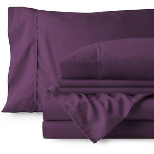 Ultra Soft Premium 1800 Microfiber Sheet Set (Includes Free Bonus Pillowcases)
