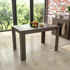 Dining Table 4 Seater MDF Wood Kitchen Dining Room Seat Home Furniture Walnut
