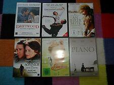 6 Filme DVD - Paket Konvolut Sammlung Liebe Liebesfilme Romantik Herz Klassiker