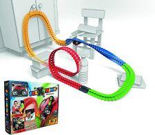 FleXtreme Autorennbahn Starter Set 184 Schienen Smoby  Looping Rennbahn Kinder