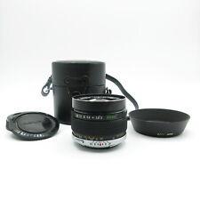 Olympus OM-System Zuiko MC Auto-W 1:2 f=35mm  Objektiv lens