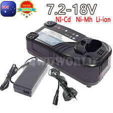 For Hitachi Battery Charger 7.2V-18V UC18YRL EBM1830 1815 Ni-mh Ni-Cd Li-ion OZ
