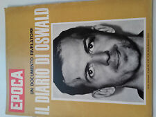 rivista EPOCA_12 luglio 1964_n.720_ il diario di LEE HARVEY OSWALD_JF KENNEDY