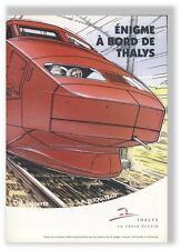 Denayer Duchateau enigme a bord du Thalys pub 1996