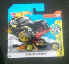 Hot wheels Volkswagen kafer racer beetle black momo racing sealed short card