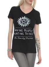 Supernatural Women T-shirt - The Family Business - Saving People Hunting Things